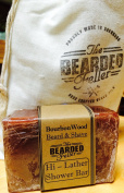 Shower & Shaving Soap - BourbonWood Scent