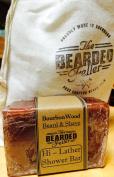 Shower & Shaving Soap - BourbonWood Scent