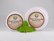 Organic Rosemary Mint Shaving Cream