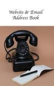 Website & Email Address Book