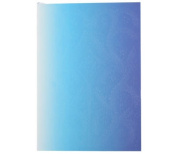 """Christian LaCroix Neon Blue B5 10"""" X 7"""" Ombre Paseo Notebook"""