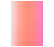 "Christian LaCroix Neon Pink A6 6"" X 4.25"" Ombre Paseo Notebook"