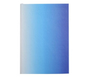 """Christian LaCroix Neon Blue A5 8"""" X 6"""" Ombre Paseo Notebook"""