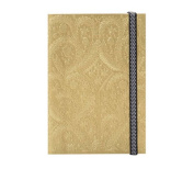 """Christian LaCroix Gold A5 6"""" X 8"""" Paseo Notebook"""