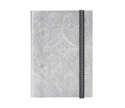 "Christian LaCroix Silver B5 10"" X 7"" Paseo Notebook"