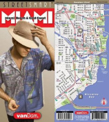 Streetsmart Miami Map by Vandam