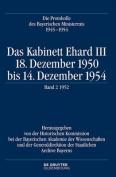 Das Kabinett Ehard III [GER]