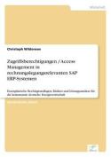 Zugriffsberechtigungen / Access Management in Rechnungslegungsrelevanten SAP Erp-Systemen [GER]