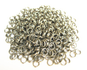 Kathy Mall Stainless Steel Split Rings/nickel Plated Split Ring Chain Parts - 50pcs - 5mm/6mm/7mm/9mm /10mm Large