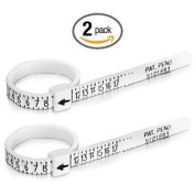 Multisizer Economical Ring Sizer Gauge - Set of Two