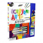 Petit Picasso Crayon Art Set For Young Artists