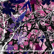 Hydrographic Film - Water Transfer Printing - Hydro Dipping - Lady's Choice Camo - 1 Metre