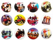 THE MONKEES Awesome Quality Lot 12 New Pins Pinback Buttons Badge brooch 3.2cm