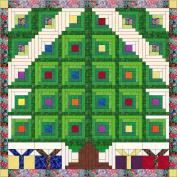 Easy Through The Christmas Window Quilt Kit