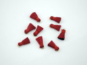 20pcs 0.8''(2.0cm) Small/Tiny Silk Tassels for Jewellery Designs with Jump Rings