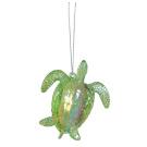 Acrylic Sea Turtle Hanging Christmas Ornament