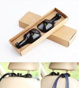 Zonman® Universal Car Vehicle Seat Headrest Hanger Holder Hook Haning Hanger Hook for Bag Purse Cloth 2Pcs
