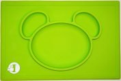 ✮Teddy Bear Children Placemats by First Like - Silicone Baby Mat & Plate in one✮