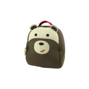 Dabbawalla Bags Preschool & Toddler Bear Backpack, Brown
