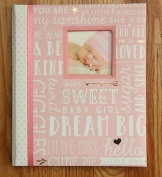 Pearhead L'il Peach Baby Girl Memory Book Pink
