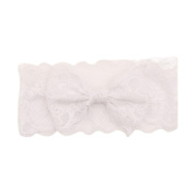 Susenstone Girls Lace Big Bow Hair Band Baby Head