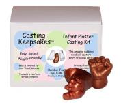 Luna Bean Infant Plaster Statue Casting Keepsake Kit - Cast Baby Hand & Foot