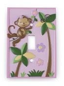 Koala Baby Girl Monkey Switch Plate Cover