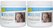Triple Paste Medicated Ointment for Nappy Rash - Fragrance Free - 470ml - 2 pk
