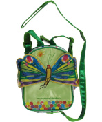 """The World of Eric Carle """"Double Pocket"""" 2-in-1 Backpack Harness - lime, one size"""