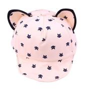 Usstore Kids Baby Peak Hat Hair Band Headwear Revers Net Sunhat Cap