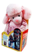 2-in-1 Safety backpack harness Pink Poodle