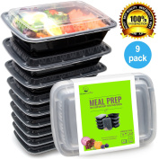 Bento Lunch Box Set - Meal Prep Food Storage - Restaurant Containers - Plastic Foodsaver