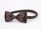 Baby Bow Headband, Small Satin Bow Handmade Headband, Baby to Adult Headband