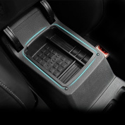 Car Glove Armrest Secondary Storage Organiser Centre Console Box fit VW Volkswagen Golf MK7 GTI ABS Plastic