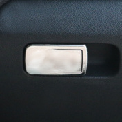 Car Interior Glove Box Switch Decoration fit Volkswagen VW Polo 2014 2015 Stainless Steel