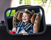 ((LAUNCH OFFER!)) Onco Baby car rear view mirror - Black