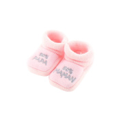 baby booties 0-3 Months Pink - 50 50 Mom Dad