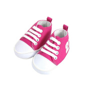 Baby Basketball 0-6 fuchsia and white Month