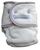 Sustainablebabyish Happy Little Clouds - Size 1 3.2-6.8kg - Thistle