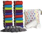 Close Pop-In 341105 Cloth Nappy (Box of 20 - Bamboo Brights V2