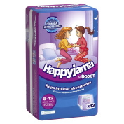 Nappies Dodot happyjama Girl 8-12 años