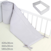 Infantastic Baby Cot Bed Bumper Pad Nursery Bedding Set in Different Sizes (L