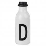 Design Letters AJ Water Bottle with letter - D