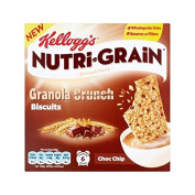 Kellogg's Nutrigrain Granola Crunch Chocolate Chip 6 x 40g