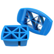 FunBites Food Cutter, Blue Triangles