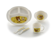 Richell Rilakkuma lunch dish set