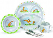 Guess How Much I Love You 5 pieces Dish, Bowl, Cup, Fork & Spoon Gift Set