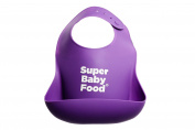 SUPER BABY FOOD SILICONE BIB