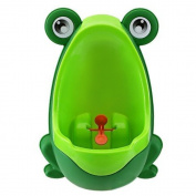 Frog Shape Children Babies Kids Boys Plastic Toilet Training Urinal Pee Trainer Potty Green