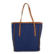TOLIFE Brand New and High Quality Office Ladies' Fashionable Rivet Canvas Handbags